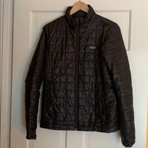 Patagonia Nano Puff quilted zip up vegan jacket m